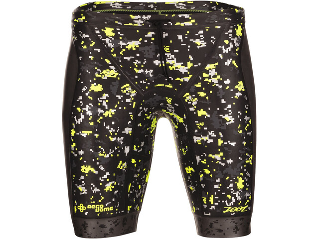 Zoot Wave Badebukser Herrer, black/high-viz-yellow